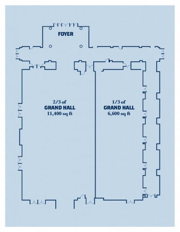 Floor Plans - Grand Hall
